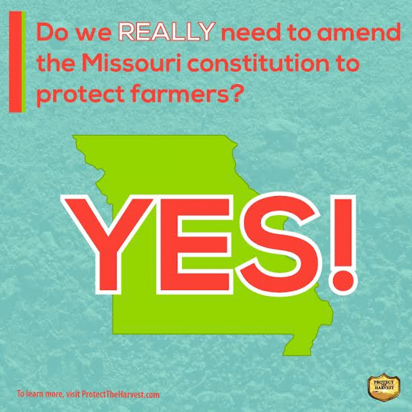 Does Missouri Really Need to Amend Its Constitution to Protect Farming?
