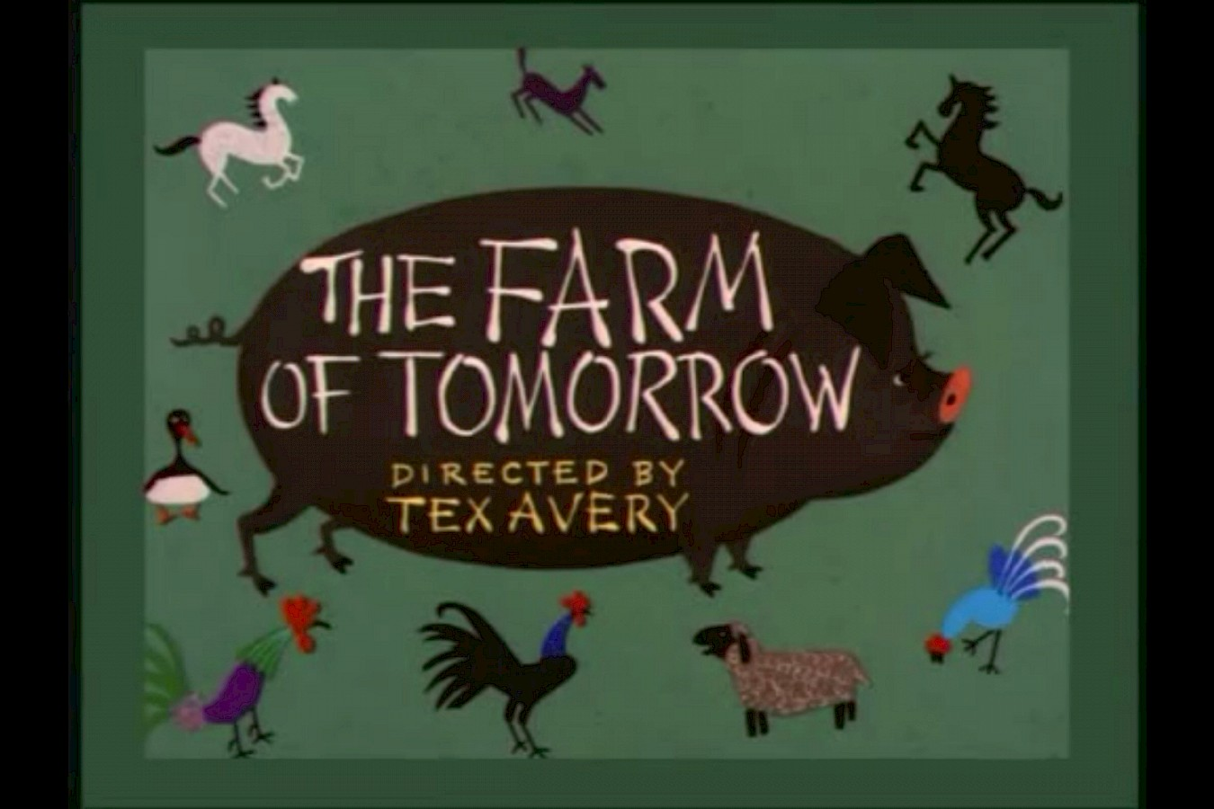 Tex Avery's Vision of the Future of Farming Over 60 Years Ago