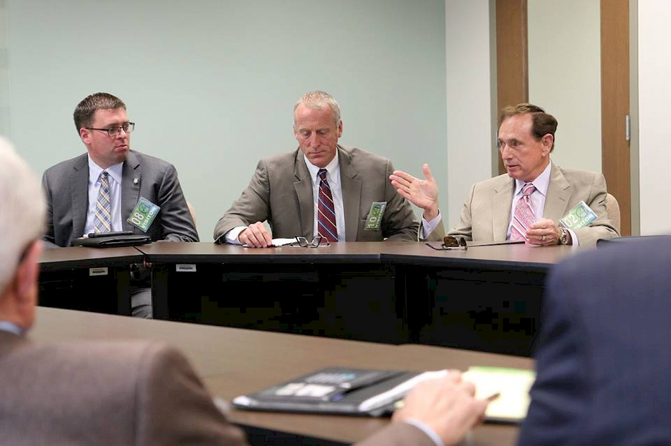 Forrest Lucas and Protect The Harvest Discuss Right to Farm Amendment with Oklahoma Ag Groups