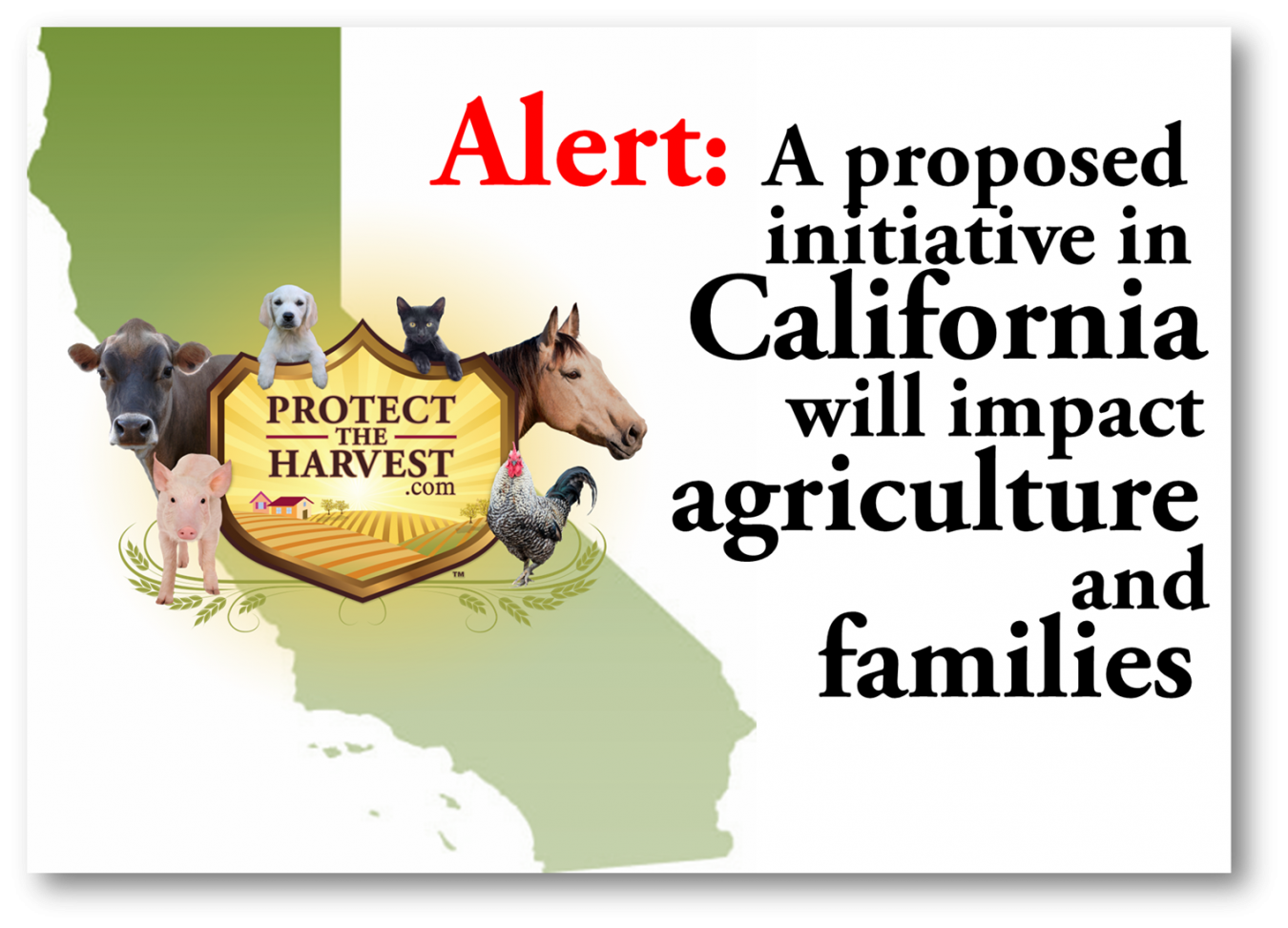 New Initiative in California Aimed Against Animal Agriculture and Families