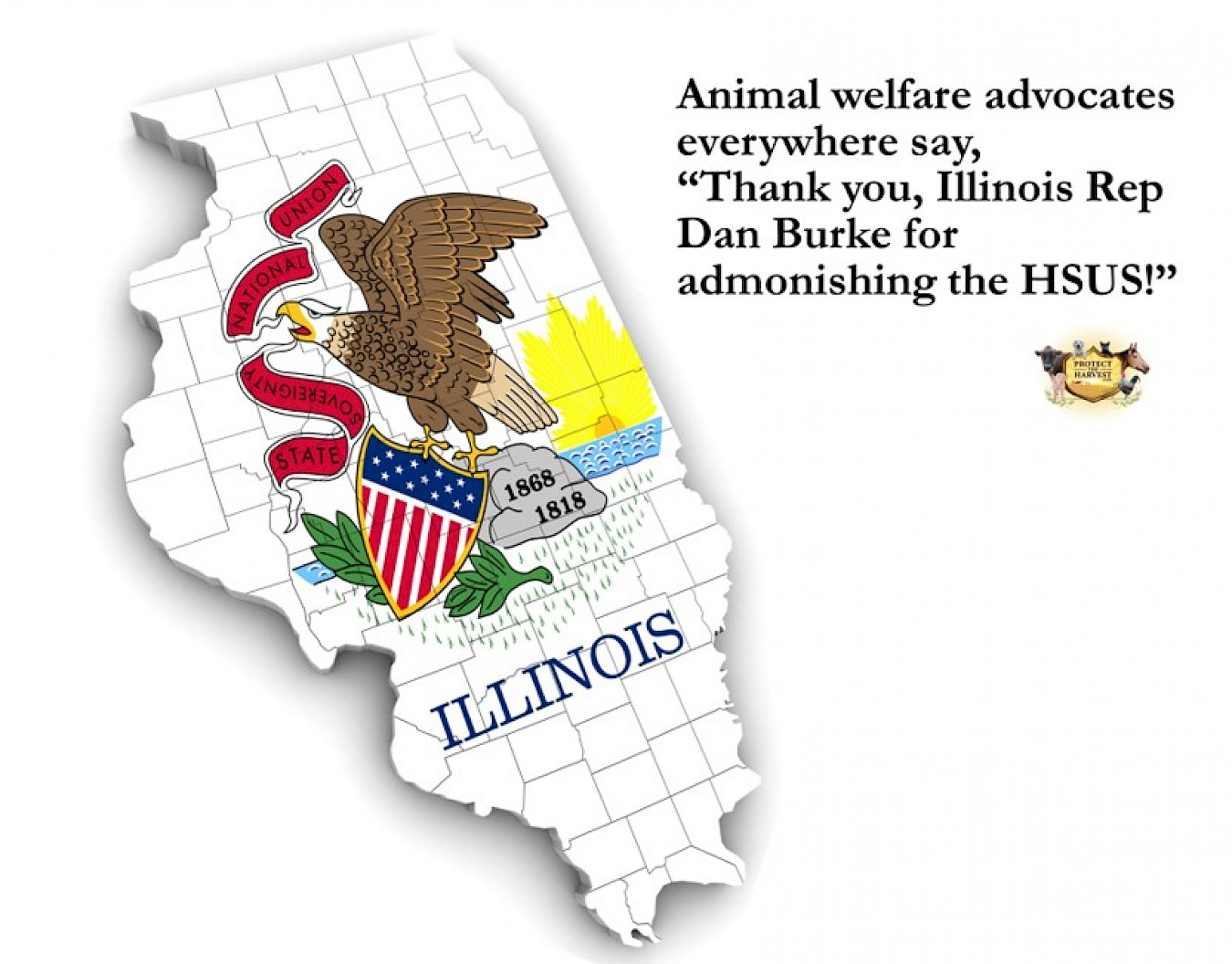 Illinois Lawmaker Admonishes HSUS