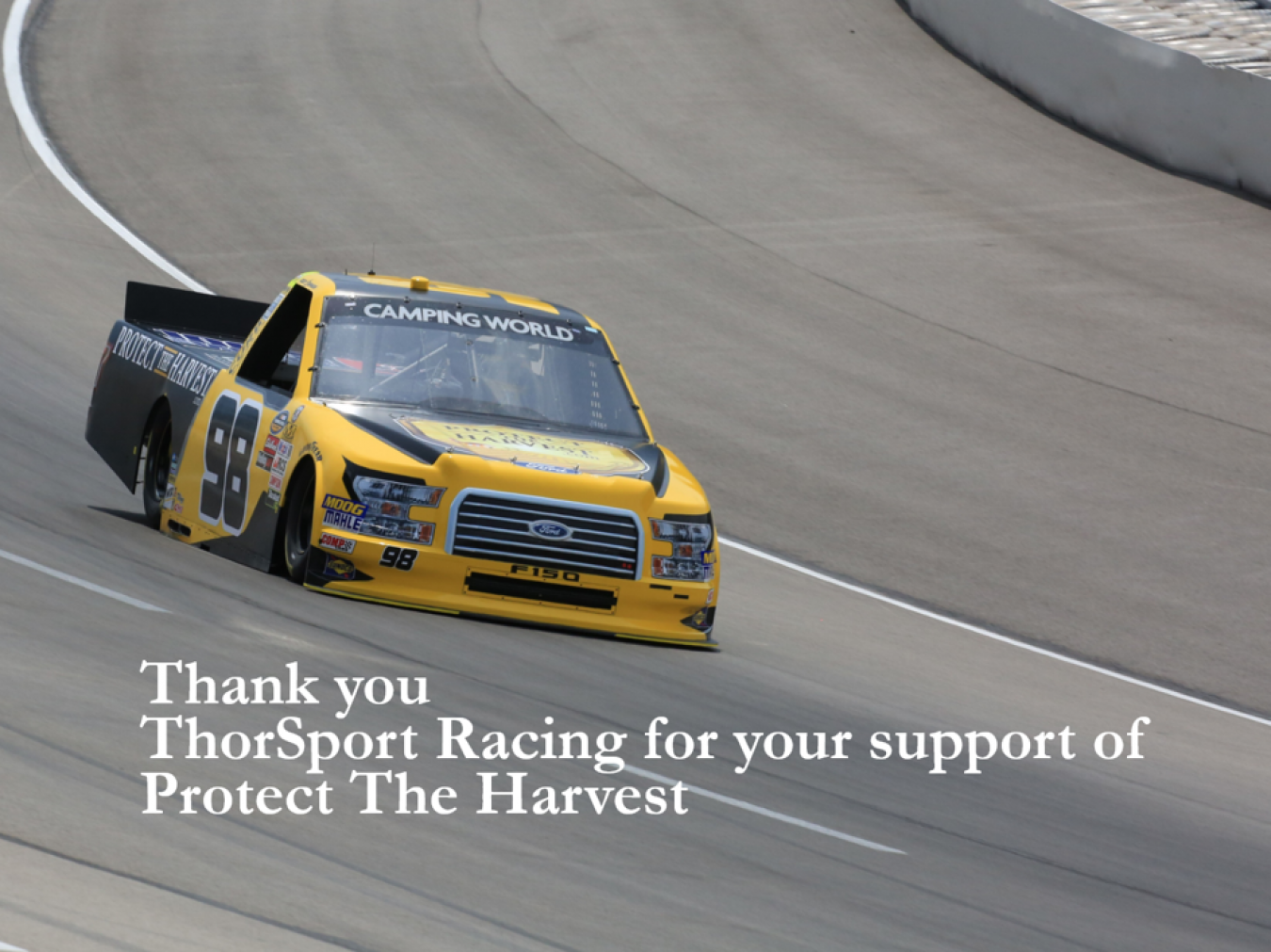 ThorSport Racing Supports Protect The Harvest