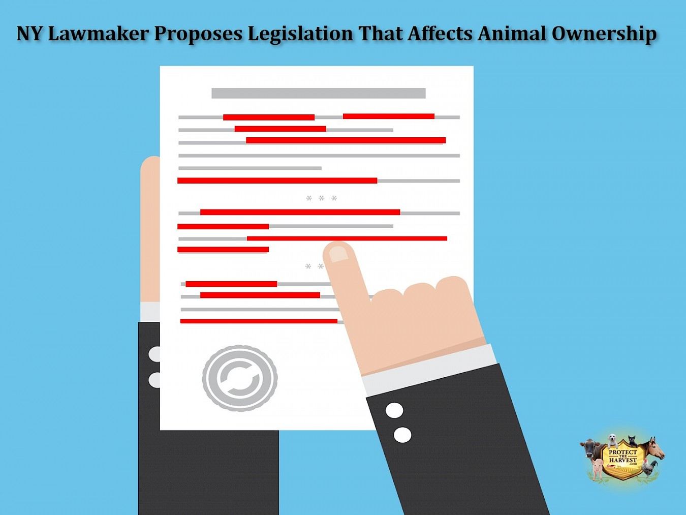 New York Lawmaker Proposes Legislation That Affects Animal Ownership