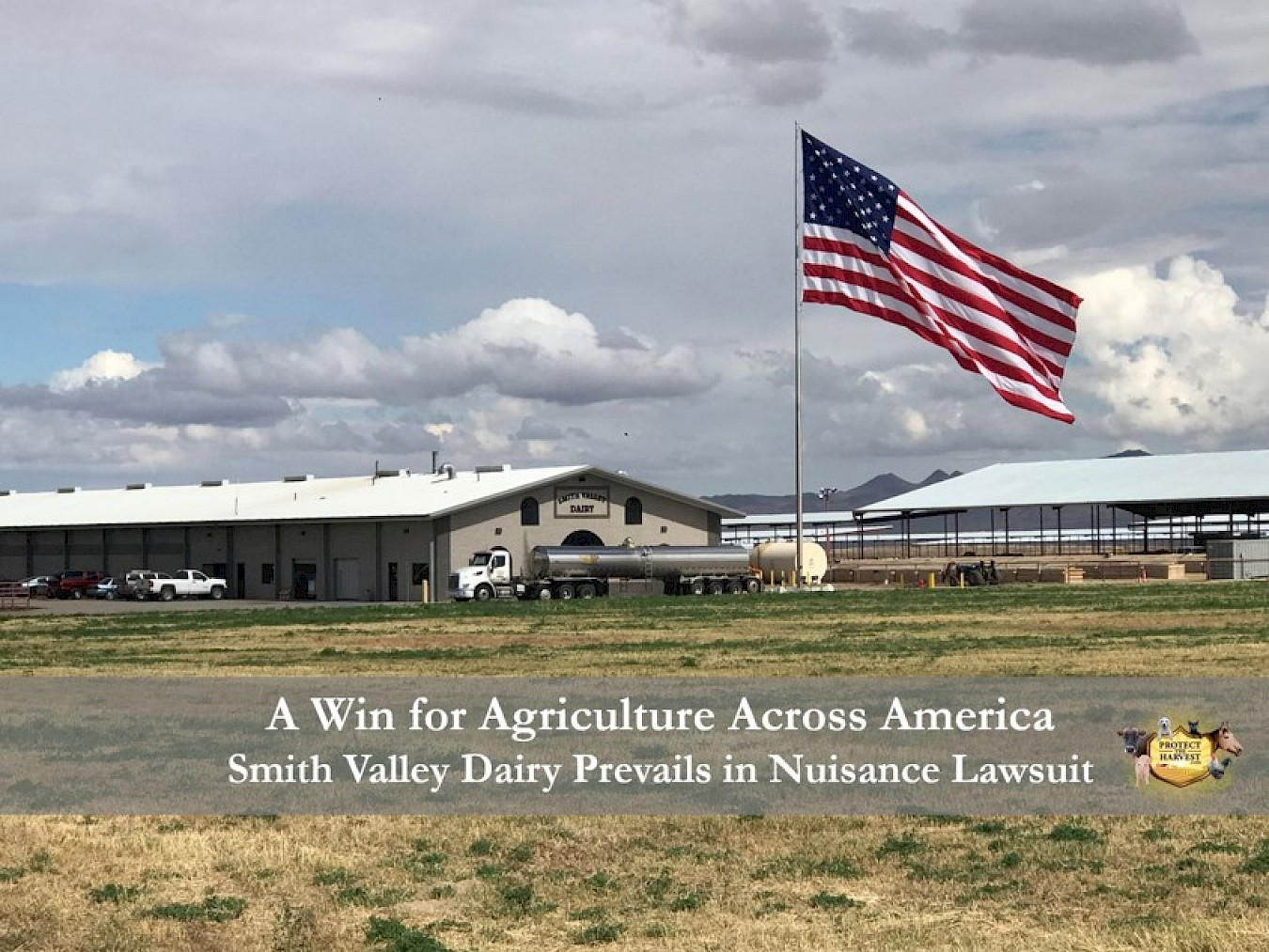 A Win for Agriculture Across America - Smith Valley Dairy Prevails
