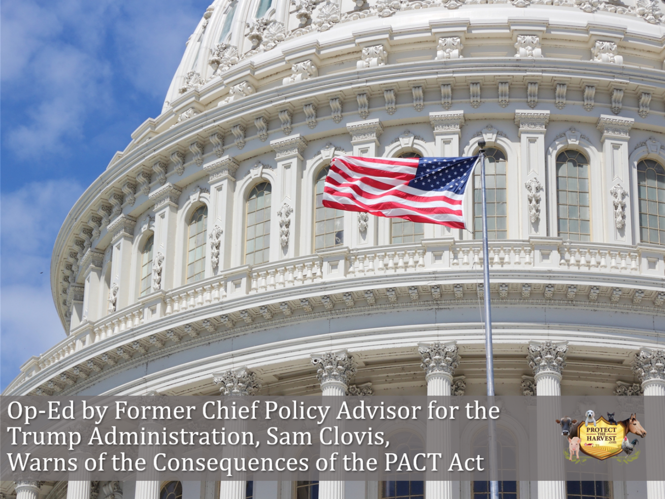 Op-Ed by Former Chief Policy Advisor for the Trump Administration Warns of the Consequences of the PACT Act